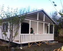 Дачные домики.Для проживания летом и зимой