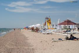 Кімнати біля моря для відпочинку Затока-курорт Кароліно-Бугаз Недорого