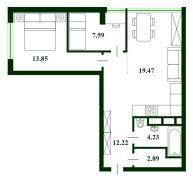ЖК Паркленд ParkLand-дизайнерський ремонт, мебль.Свободна